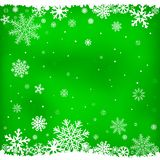 Green snow mesh background Royalty Free Stock Photo