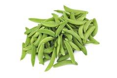 Green Snow peas Royalty Free Stock Photos