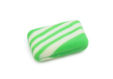 Green soap, isolated Royalty Free Stock Image