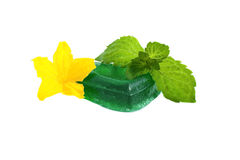 Green soap Stock Photography