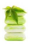 Green soap Royalty Free Stock Images