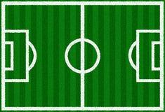 Green Soccer Field Stock Image