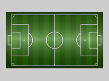 Green soccer field ground line / Green football field ground line. Sport vector illustration. image, jpeg. eps10. Royalty Free Stock Image
