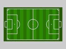 Green soccer field ground line / Green football field ground line. Sport vector illustration. image, jpeg. eps10. Royalty Free Stock Photography