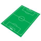Green Soccer Stadium Stock Photos