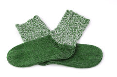Green socks Royalty Free Stock Photo