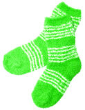 Green socks Royalty Free Stock Photos