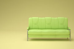 Green sofa Royalty Free Stock Image