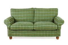 Green sofa Stock Photography