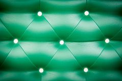 Green sofa background Royalty Free Stock Photos