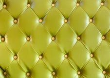 Green sofa background Stock Image