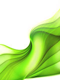 Green soft lines Royalty Free Stock Photos