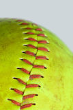 Green softball Royalty Free Stock Photos