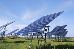 Green solar energy Royalty Free Stock Photo