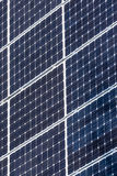 Green solar energy panels Royalty Free Stock Photos