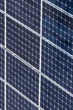Green solar energy panels Stock Photos