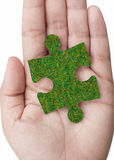 Green solution Royalty Free Stock Photos