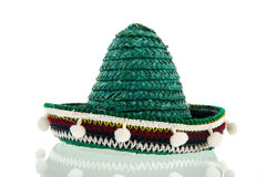 Green Sombrero Stock Photography