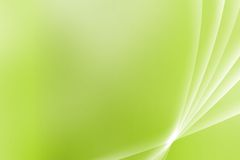 Green Soothing Vista Curves Royalty Free Stock Image
