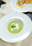 Green soup Royalty Free Stock Photos