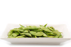 Green soy beans Royalty Free Stock Image