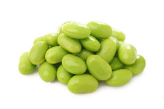 Green soy beans Stock Image