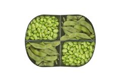 Green Soybean Stock Images