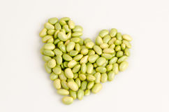 Green Soybean, The Pigeon Pea Or Genus Cajanus. Stock Photos