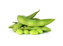 Green soybeans Royalty Free Stock Photography