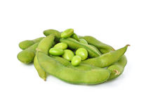Green soybeans Royalty Free Stock Photos