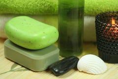Green spa Stock Photo