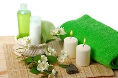 Green spa Royalty Free Stock Photo