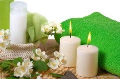 Green spa Stock Photos