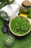 Green spa Treatments Royalty Free Stock Image