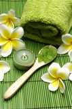 Green spa Treatments Stock Image