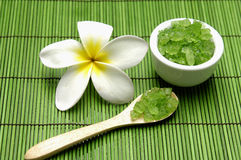 Green spa Treatments Stock Images