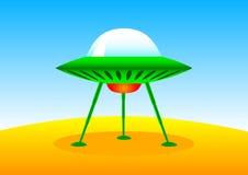 Free Green Spacecraft Royalty Free Stock Photos - 17036178