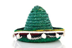 Green Spanish sombrero Stock Photography