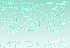 Green sparkling pattern Royalty Free Stock Images