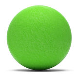 Green Sphere. Isolated on White Background Royalty Free Stock Photo