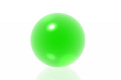 Green sphere Stock Images
