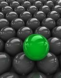 Green sphere Stock Photography
