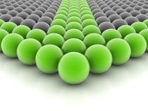Green sphere Royalty Free Stock Photography