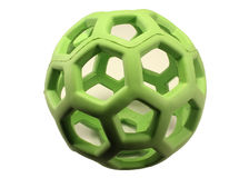 Green Sphere Toy. A rubber dog toy actually Stock Images