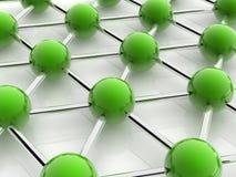 Green spheres Royalty Free Stock Photo