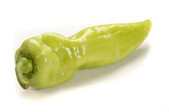 Green spicy paprika from hungary Royalty Free Stock Images