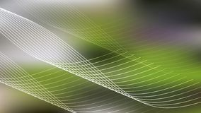 Green Spider Web Line Background Beautiful elegant Illustration graphic art design Background royalty free illustration