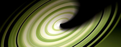 Green spin Stock Photo