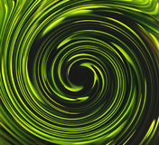Green spin Royalty Free Stock Image