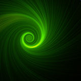 Green spiral Stock Image
